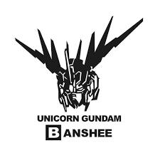 Gundam Head Decal Vinyl Sticker Car Window Wall Anime Logo Ushirika Coop