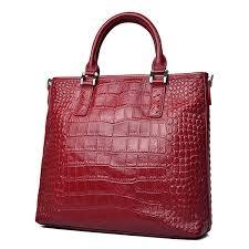 cowhide genuine leather tote handbag