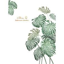 Shop Diy Beach Tropical Palm Leaves Wall Stickers Modern Art Vinyl Decal Wall Mural Online From Best Furniture And Decor On Jd Com Global Site Joybuy Com