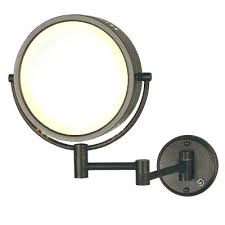 wall mount mirror with extension arm