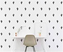 Bnls Cactus Succulent Plants Wall Decor Decal 36pcs Cactus Green Plants Pastoral Style Wall Stickers Vinyl Removable Art Wall Decals For Living Room Home Decoration Birthday Gifts For Women Girl Wall Stickers Murals