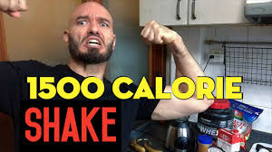 gain weight 1500 calorie homemade