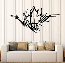 Large Vinyl Decal Ornament Maple Leaf Symbol Life Love Wall Sticker De Wallstickers4you