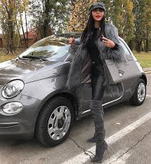 Ava Gray » Gray suede leather boots » The Cadence's