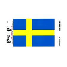 Sweden Flag Vinyl Car Decal Scandinavian North