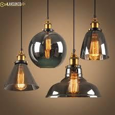 glass pendant lamp industrial decor