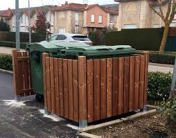 Project To Cover Garbage Containers With Lunawood Wood