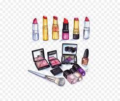 makeup cartoon png 550 753