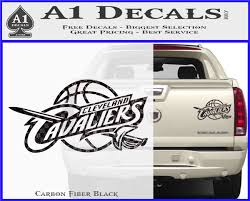 Cleveland Cavaliers Decal Sticker Full A1 Decals