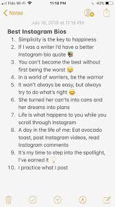 instagram bio ideas you can copy and paste instagram bio