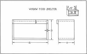 simple bird window feeder plan a home