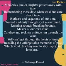 memories smiles laughter quotes writings by aishwarya