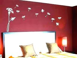 charming burdy red bedroom ideas and