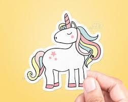 Unicorn Decal Etsy