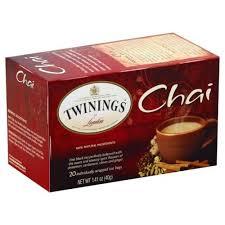 london black tea chai tea bags