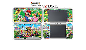 Super Mario Party Star Rush Top 100 Video Game Vinyl Decal Skin Sticker Cover For Nintendo New 2ds Xl System Console Video Games Amazon Com