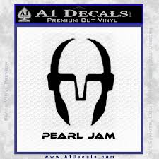 Pearl Jam Decal Sticker D3 A1 Decals