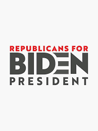 Amazon Com Republicans For Joe Biden Vinyl Decal Bumper Sticker Wall Laptop Window Sticker 5 Automotive