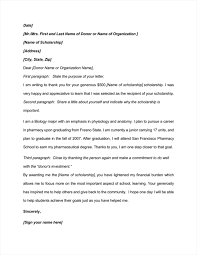 9 best scholarship thank you letter