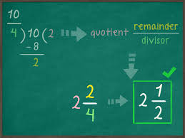 how to simplify an improper fraction