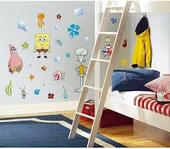Amazon Com 45 New Spongebob Squarepants Wall Decals Kids Bedroom Stickers Room Decorations Kitchen Dining