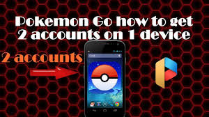 How to have 2 pokemon go accounts on 1 device - YouTube