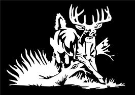 Whitetail Deer Decal Buck Car Truck Window Vinyl Hunting Sticker Graphic For Sale Online Ebay