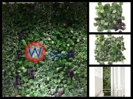 3 fejka artificial plant wall mounted