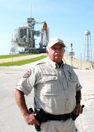 security officer a fixture at launch pad 39