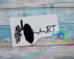 Respiratory Therapist Decal Rt Decal Respiratory Decal Decal Rt Respiratory Therapist Decal Respiratory Therapy Graduation Cap Respiratory Therapist Tattoo