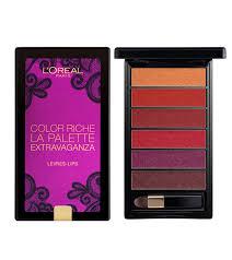 lipstick palette color riche la palette