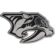 Nashville Predators Auto Emblem No Size Walmart Com