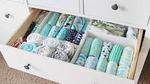 ideas para organizar las cosas del bebe