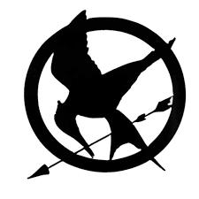 409 Hunger Games Vinyl Sticker