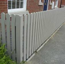 Planed Round Topped Pickets Finished In Cuprinol Shades Muted Clay In 2020 Garden Fence Paint Cuprinol Garden Shades Garden Fence