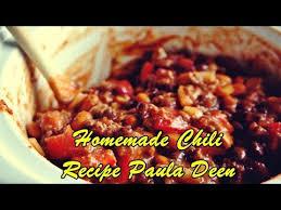 homemade chili recipe paula deen you