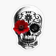 Sugar Skull Stickers Redbubble