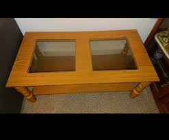 urgent solid wood coffee table