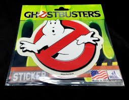 Ghostbusters Ghost Busters Vinyl Car Sticker Decal 5 1 2 X 4 3 4 For Sale Online Ebay