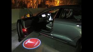Aiaia Car Door Led Light With Customized Logo Youtube