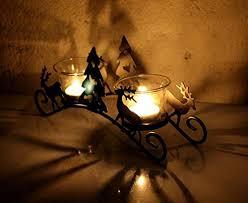 home decor candle holders mosiac glass