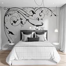 Large Flower Vines Floral Vinyl Wall Decal Sticker 362 Wall Decal Sticker Large Wall Decals Wall Decals For Bedroom