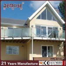 frosted glass railings design