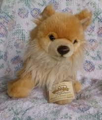 signature pomeranian plush dog stuffed