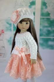 Pin by Agnes Ada Bailey on Beautiful doll | Crochet doll dress, Doll  clothes, Cute dolls