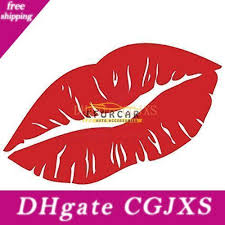 2020 Kiss Mark Lips Car Sexy Decal Sticker Car Window Wall Bumper Girl Chick Lipstick Window Red From Xmjdimskk 15 81 Dhgate Com