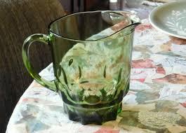 georgian pattern vintage glassware