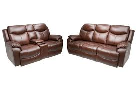 davenport leather reclining sofa and