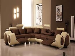 wall color for brown furniture living