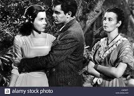 JEAN PETERS, JEFFREY HUNTER, CONSTANCE SMITH, LURE OF THE WILDERNESS Stock  Photo - Alamy